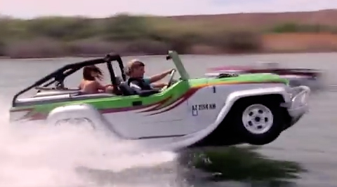 Video : WaterCar Panther